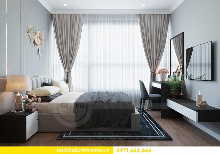 thiết kế căn hộ chung cư Vinhomes Metropolis tòa M3 căn 07 nhà chị Phương 06