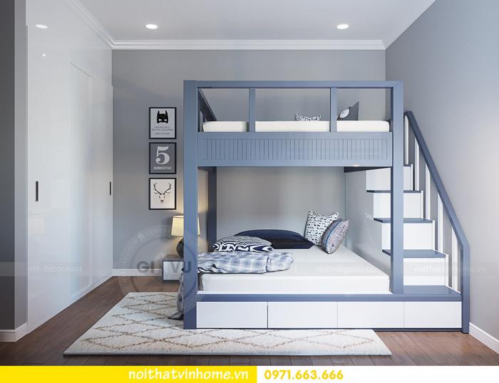 thiết kế căn hộ chung cư Vinhomes Metropolis tòa M3 căn 07 nhà chị Phương 10