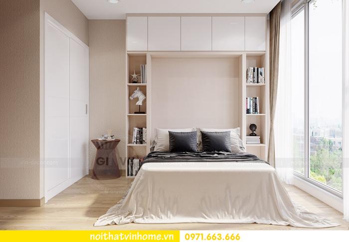 thiết kế thi công nội thất chung cư Metropolis tòa M3 căn 10 nhà cô Liễu 09