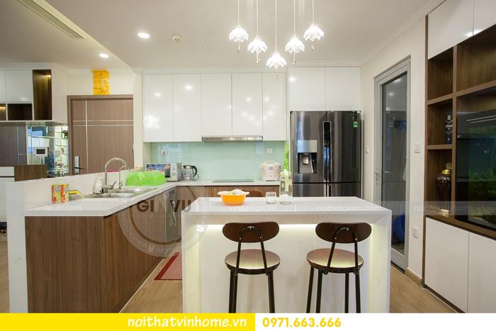 thi công hoàn thiện nội thất căn hộ 03 tòa A2 Vinhomes Gardenia 03