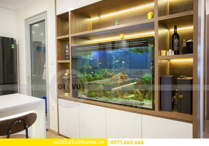 thi công hoàn thiện nội thất căn hộ 03 tòa A2 Vinhomes Gardenia 05