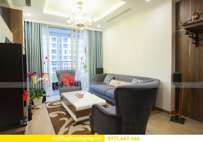 thi công hoàn thiện nội thất căn hộ 03 tòa A2 Vinhomes Gardenia 08
