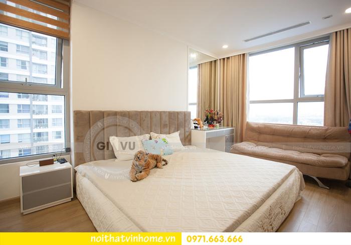 thi công hoàn thiện nội thất căn hộ 03 tòa A2 Vinhomes Gardenia 10