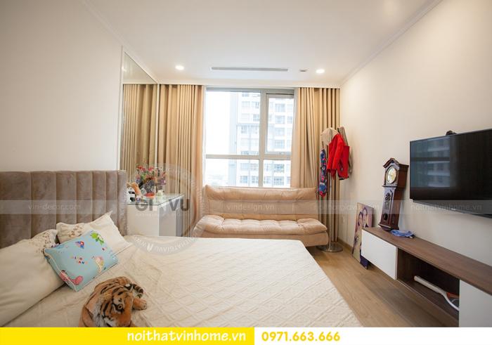 thi công hoàn thiện nội thất căn hộ 03 tòa A2 Vinhomes Gardenia 11