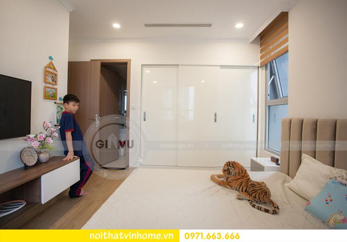 thi công hoàn thiện nội thất căn hộ 03 tòa A2 Vinhomes Gardenia 12
