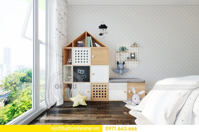 thiết kế nội thất chung cư Vinhomes Sky lake tòa S2 căn 06 view12
