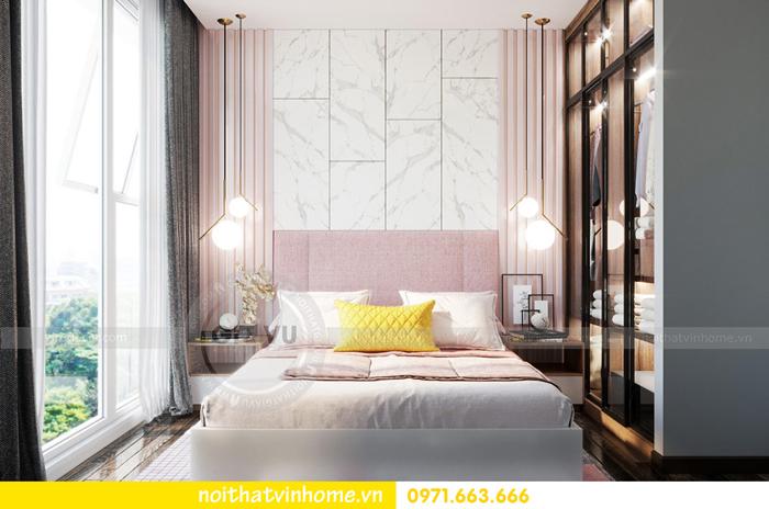 thiết kế nội thất chung cư Vinhomes Sky lake tòa S2 căn 06 view13