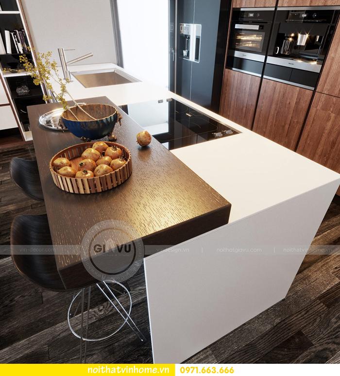 thiết kế nội thất chung cư Vinhomes Sky lake tòa S2 căn 06 view3