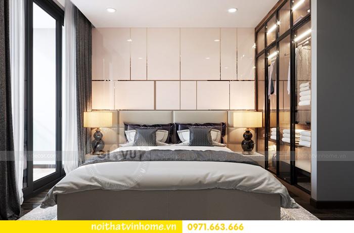 thiết kế nội thất chung cư Vinhomes Sky lake tòa S2 căn 06 view7