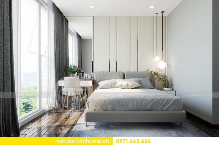 thiết kế nội thất chung cư Vinhomes Sky lake tòa S2 căn 06 view9