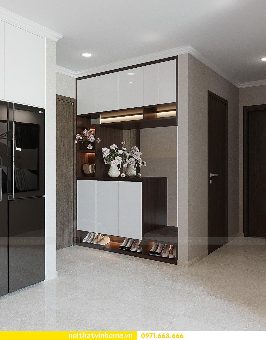 thiết kế hoàn thiện nội thất chung cư D Capitale căn 01 tòa C1 nhà anh Nam 01