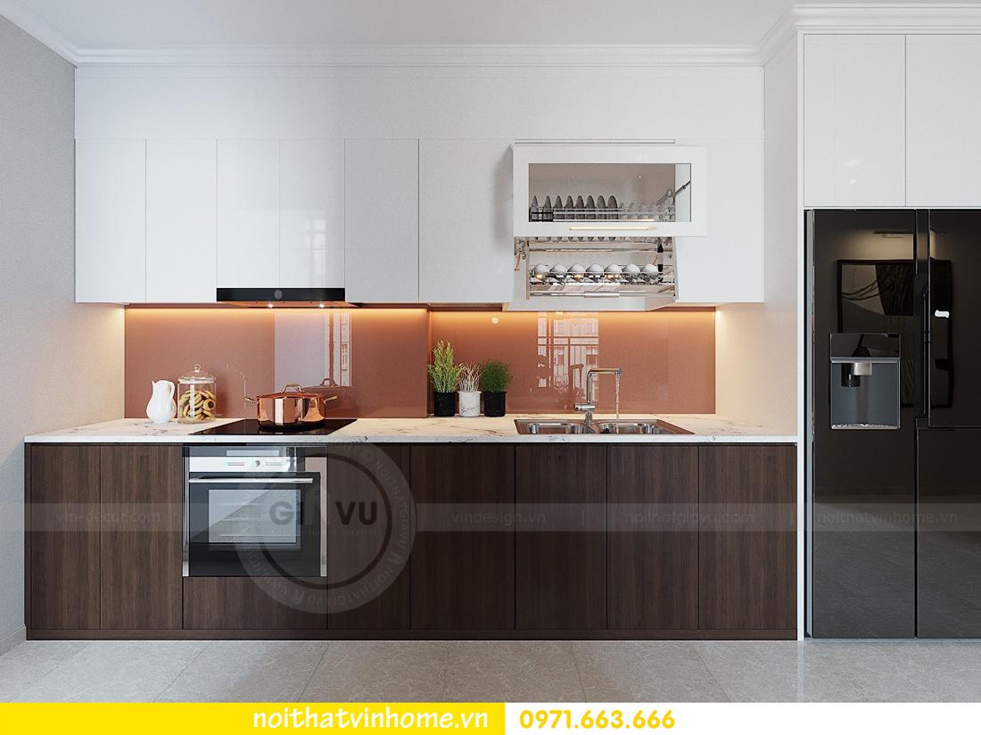 thiết kế hoàn thiện nội thất chung cư D Capitale căn 01 tòa C1 nhà anh Nam 03