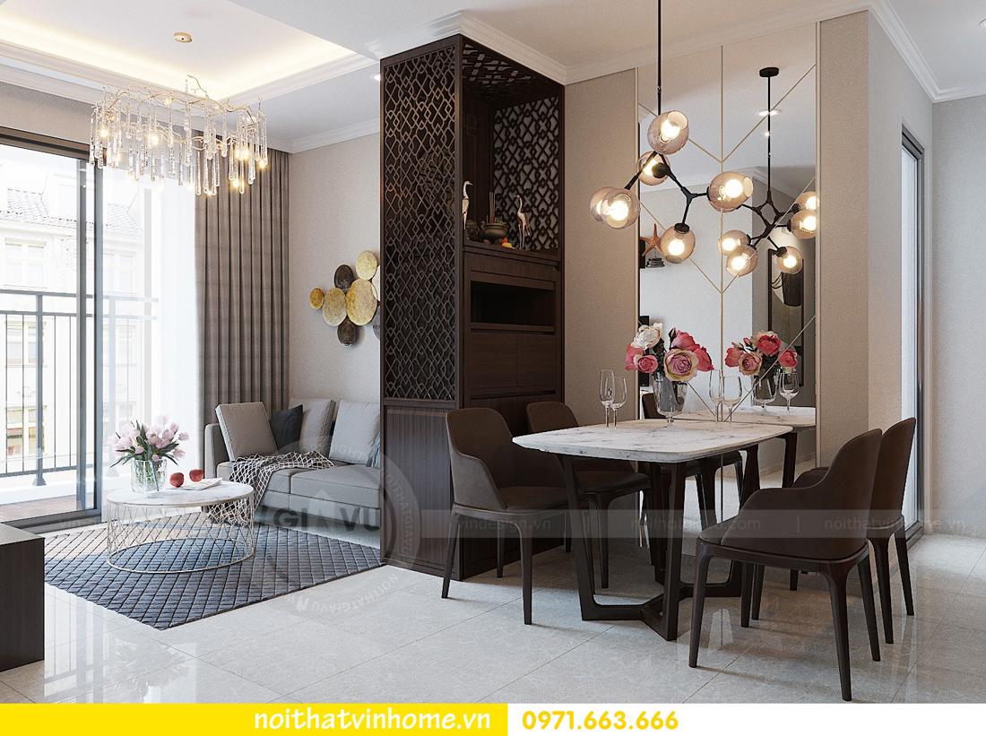 thiết kế hoàn thiện nội thất chung cư D Capitale căn 01 tòa C1 nhà anh Nam 04
