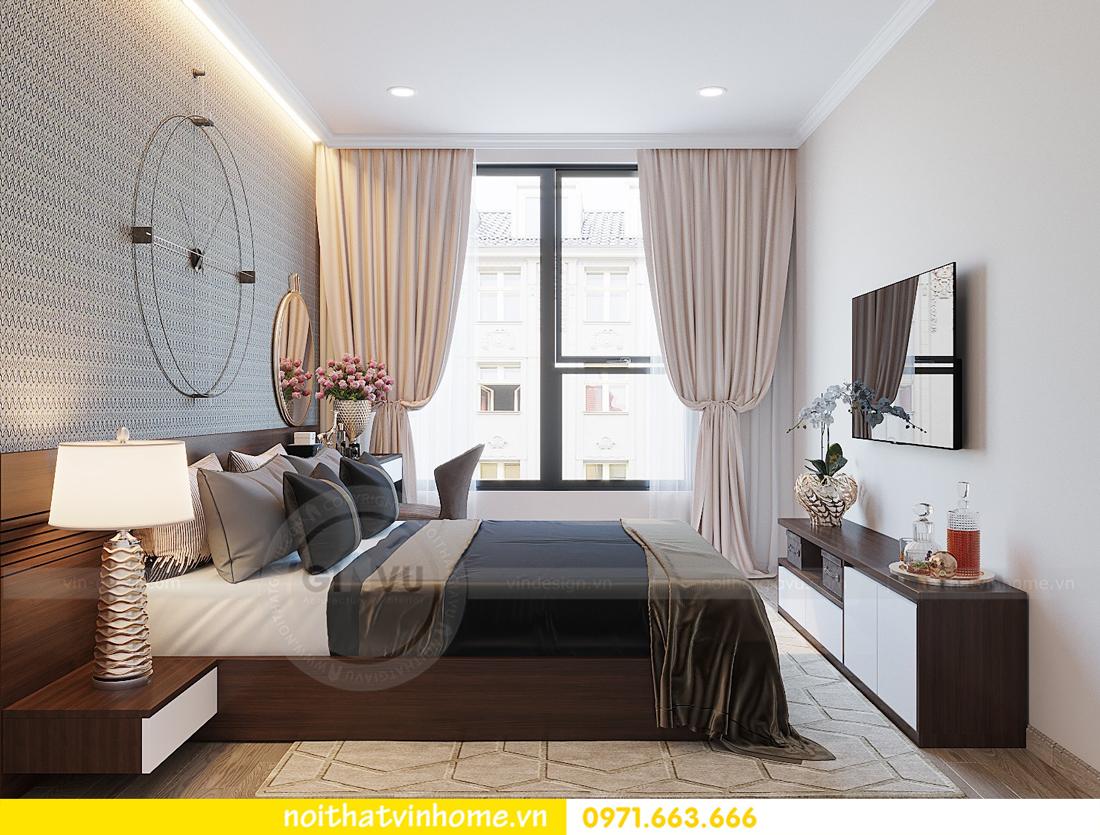 thiết kế hoàn thiện nội thất chung cư D Capitale căn 01 tòa C1 nhà anh Nam 07