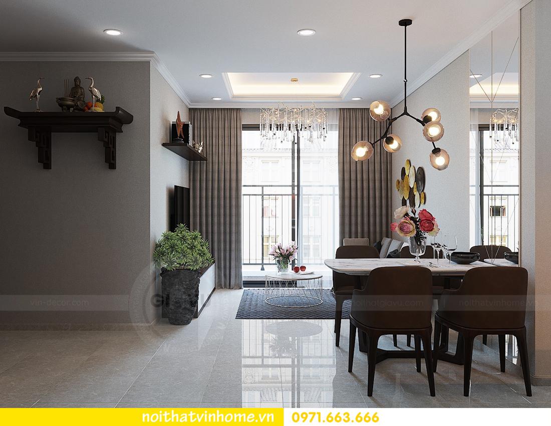 thiết kế hoàn thiện nội thất chung cư D Capitale căn 01 tòa C1 nhà anh Nam 10