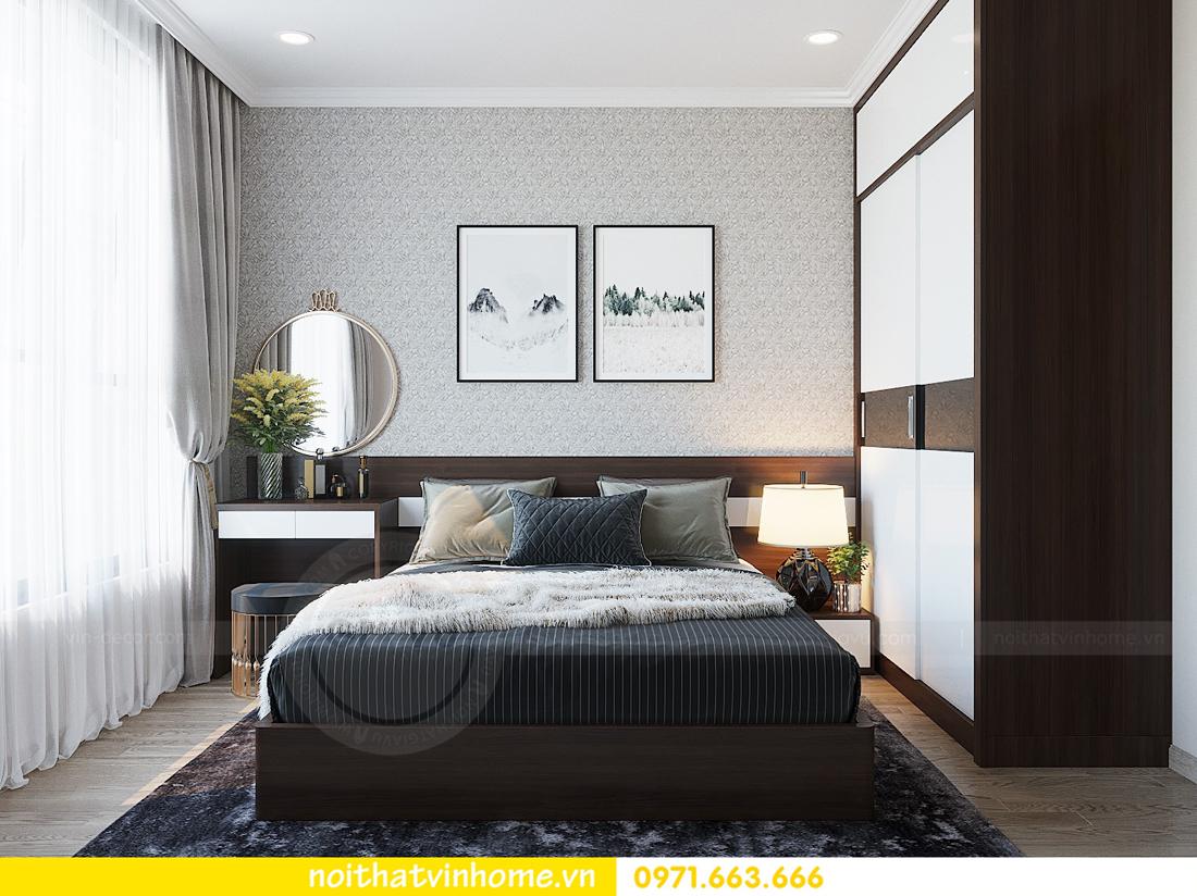 thiết kế hoàn thiện nội thất chung cư D Capitale căn 01 tòa C1 nhà anh Nam 11