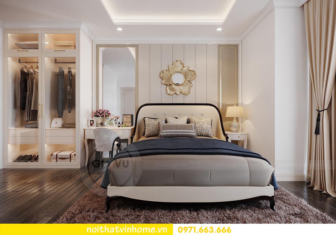 thiết kế nội thất căn hộ cao cấp Vinhomes Green Bay tòa G1 05 05A 09