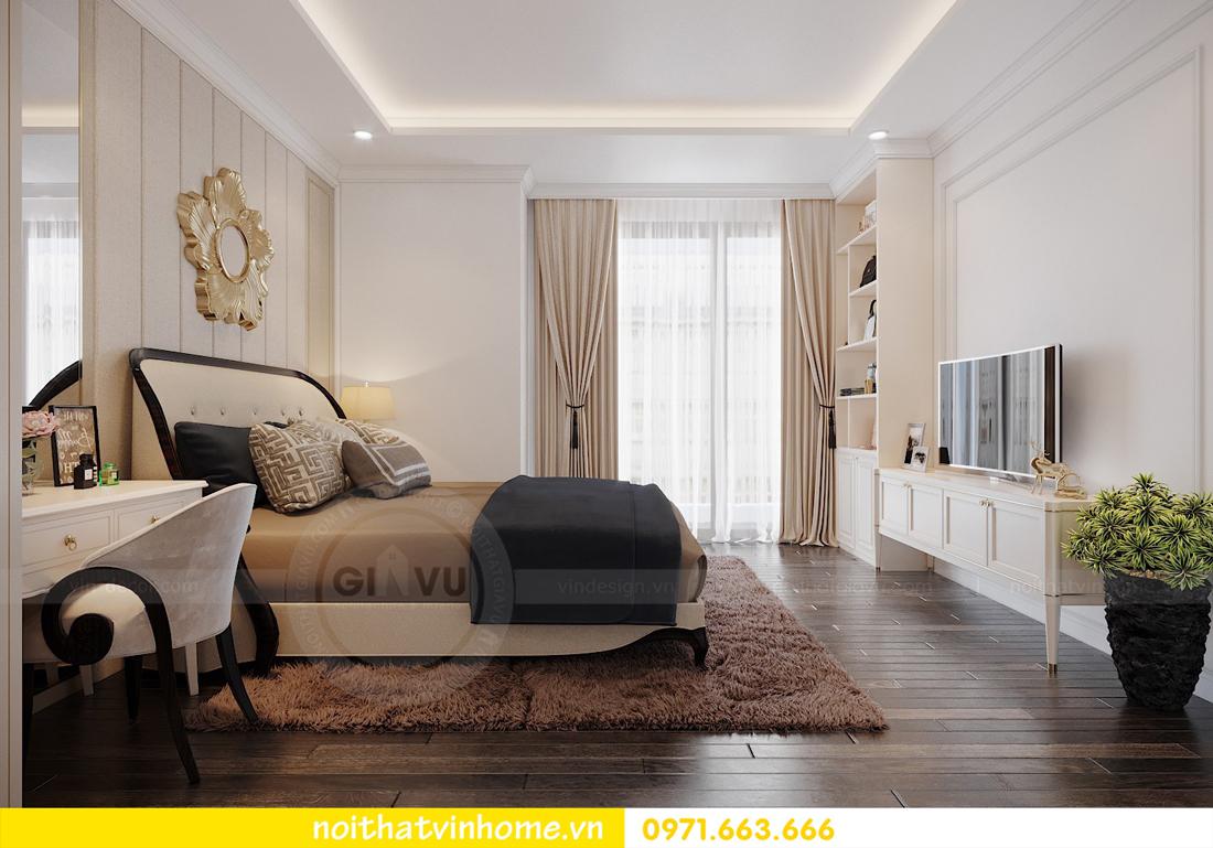thiết kế nội thất căn hộ cao cấp Vinhomes Green Bay tòa G1 05 05A 11