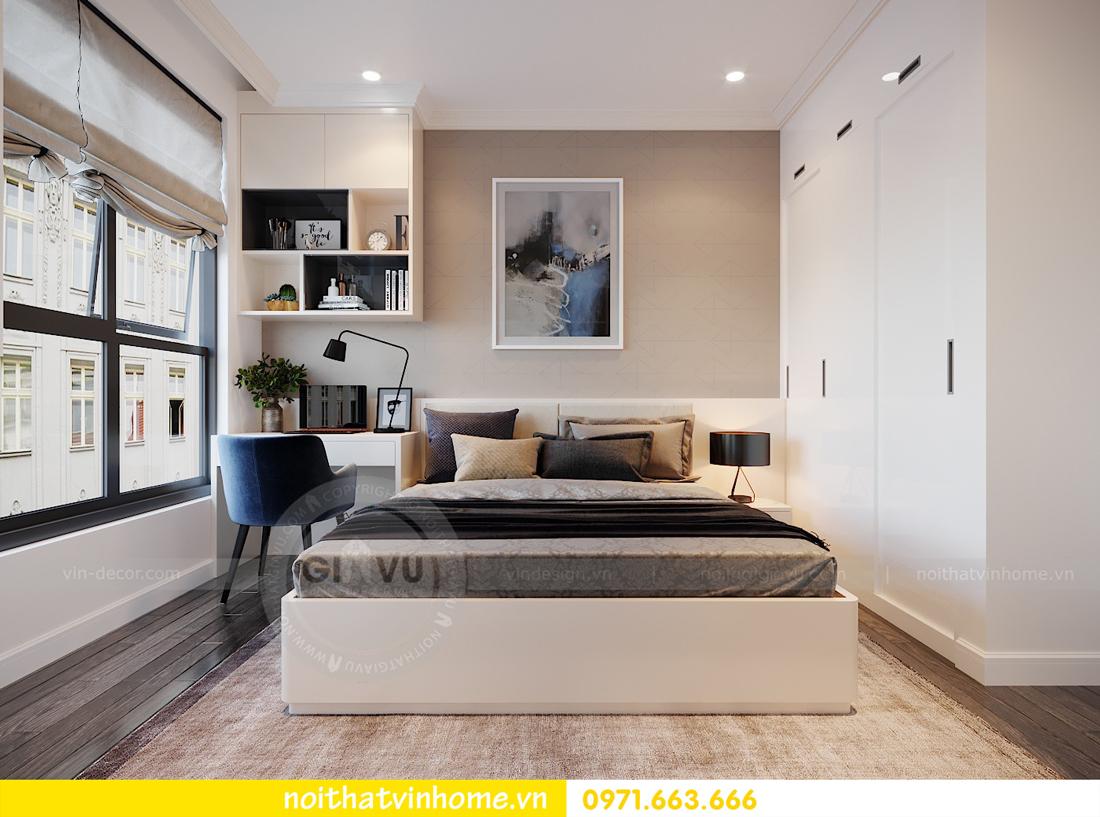thiết kế nội thất căn hộ cao cấp Vinhomes Green Bay tòa G1 05 05A 13