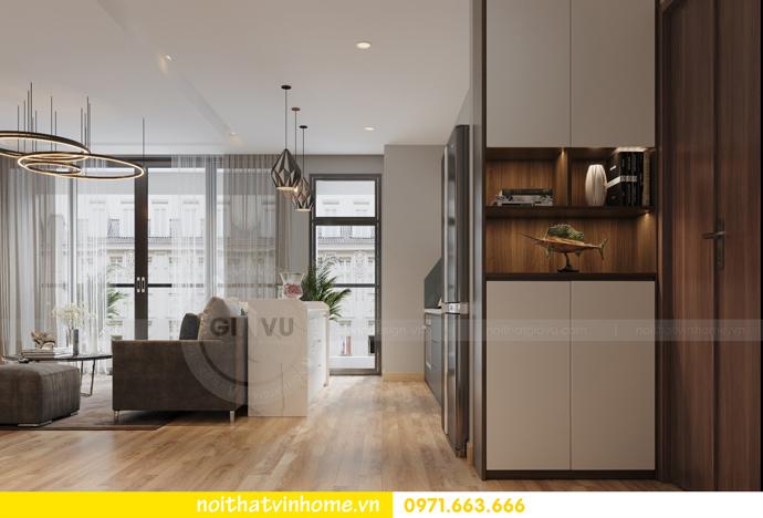 thiết kế nội thất chung cư Vinhomes Liễu Giai nhà chú Hiệp 01