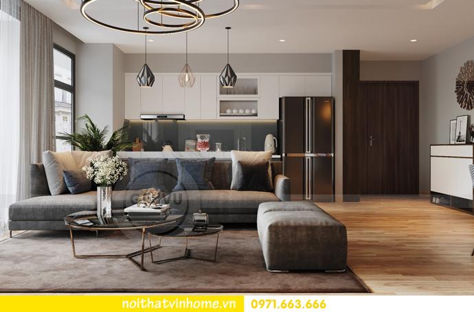 thiết kế nội thất chung cư Vinhomes Liễu Giai nhà chú Hiệp 03
