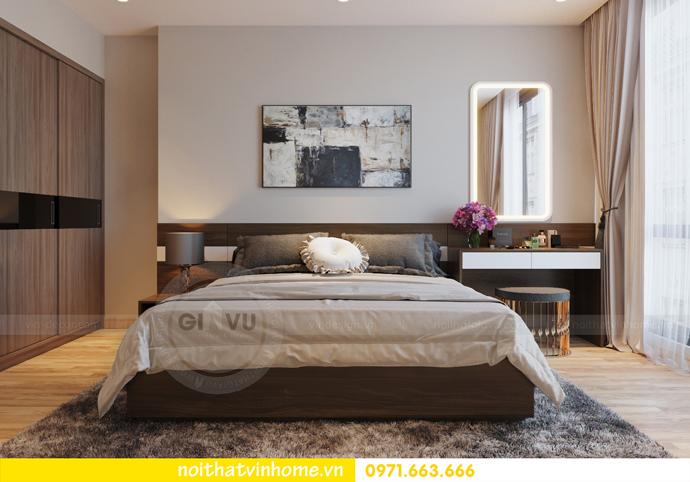 thiết kế nội thất chung cư Vinhomes Liễu Giai nhà chú Hiệp 06