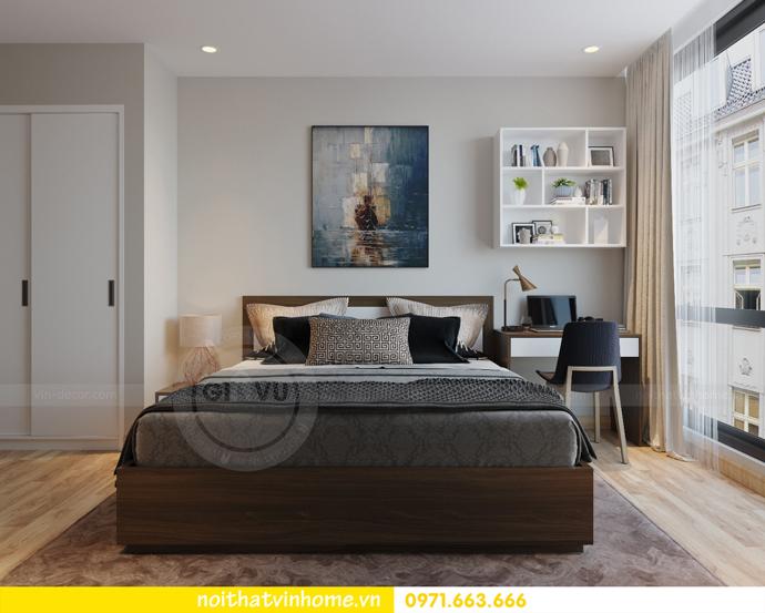 thiết kế nội thất chung cư Vinhomes Liễu Giai nhà chú Hiệp 08