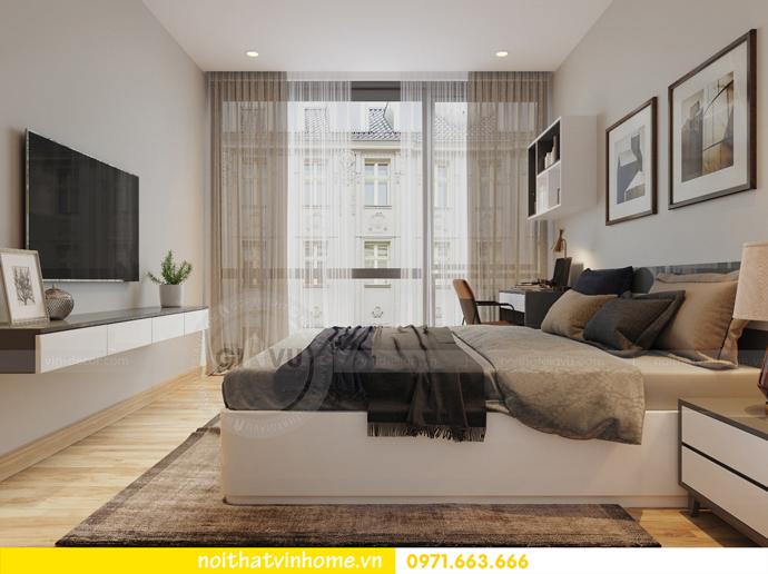 thiết kế nội thất chung cư Vinhomes Liễu Giai nhà chú Hiệp 11