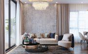 thiết kế thi công nội thất căn hộ đẹp tại Vinhomes Green Bay
