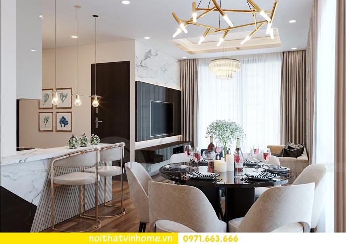 thiết kế thi công nội thất căn hộ G2- 05 Vinhomes Green Bay 03