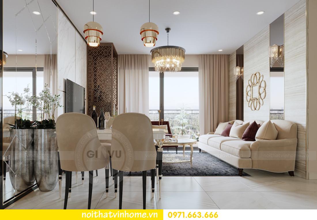 nội thất chung cư cao cấp tòa C3 căn hộ 05 D Capitale nhà chị Hà 02
