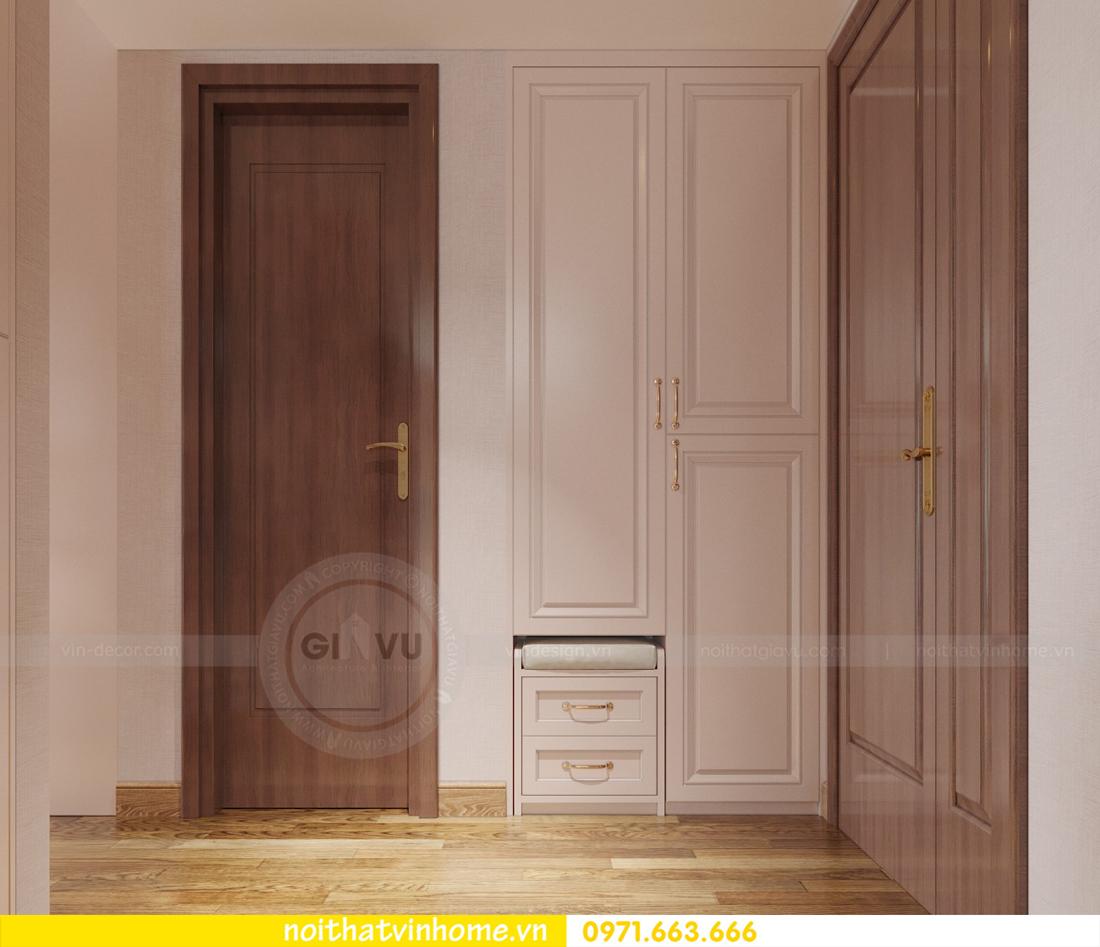 thiết kế nội thất chung cư Ancora Lương Yên tòa T2 căn 01 chị Hương 01