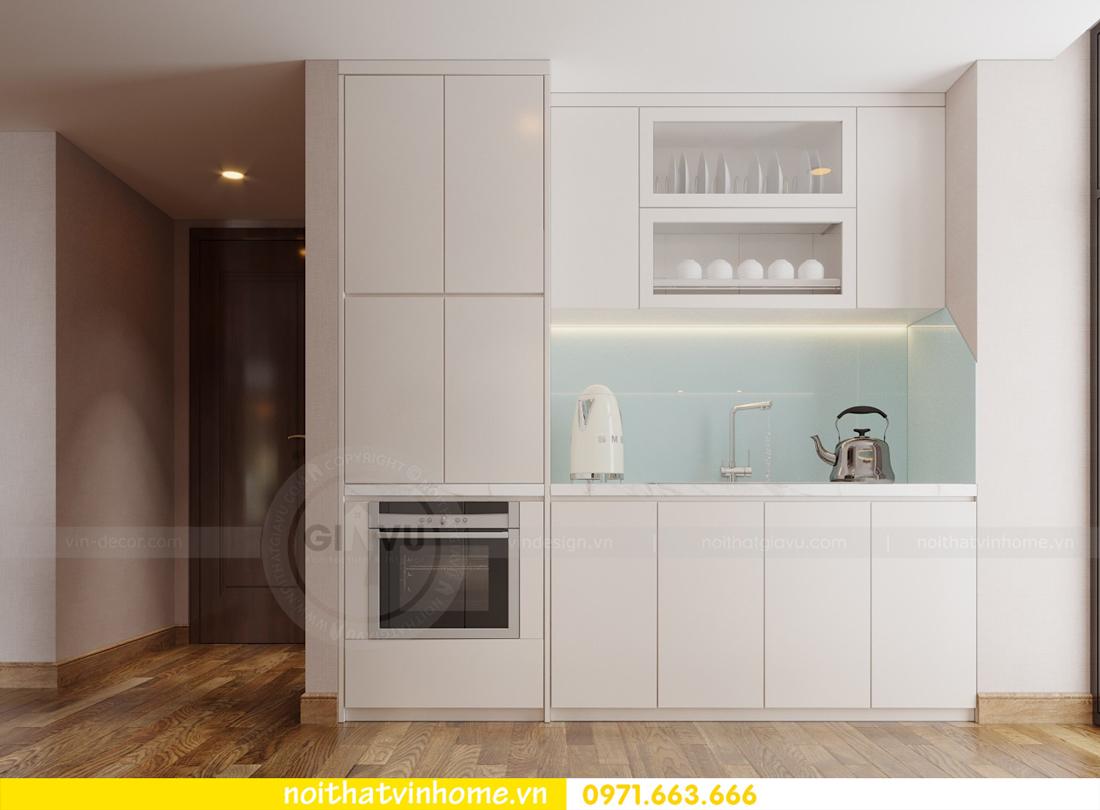thiết kế nội thất chung cư Ancora Lương Yên tòa T2 căn 01 chị Hương 02