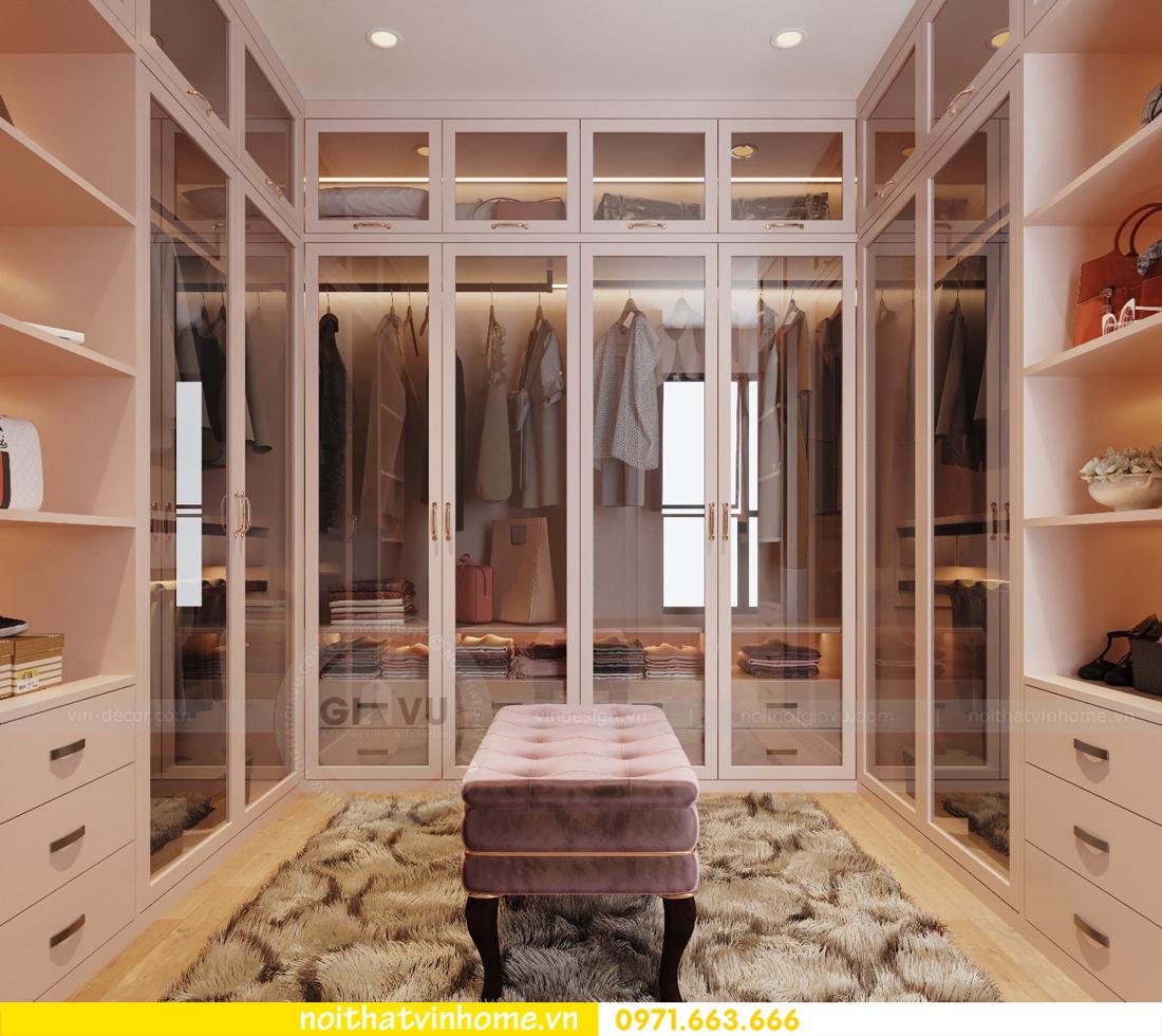 thiết kế nội thất chung cư Ancora Lương Yên tòa T2 căn 01 chị Hương 11