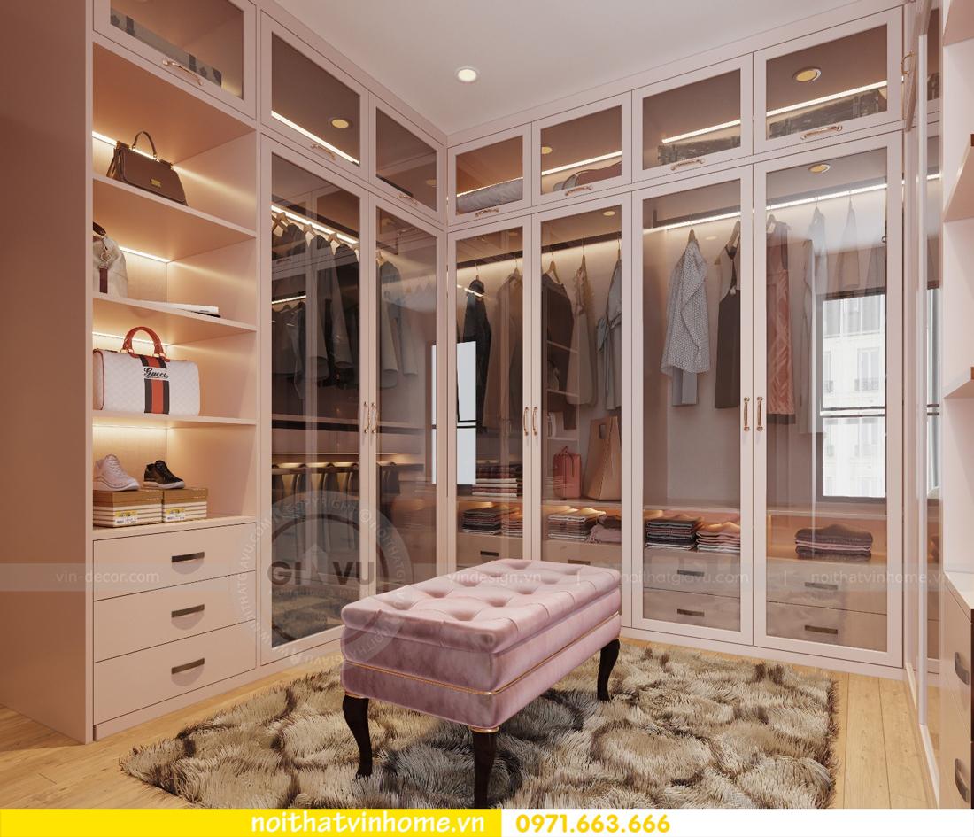 thiết kế nội thất chung cư Ancora Lương Yên tòa T2 căn 01 chị Hương 12