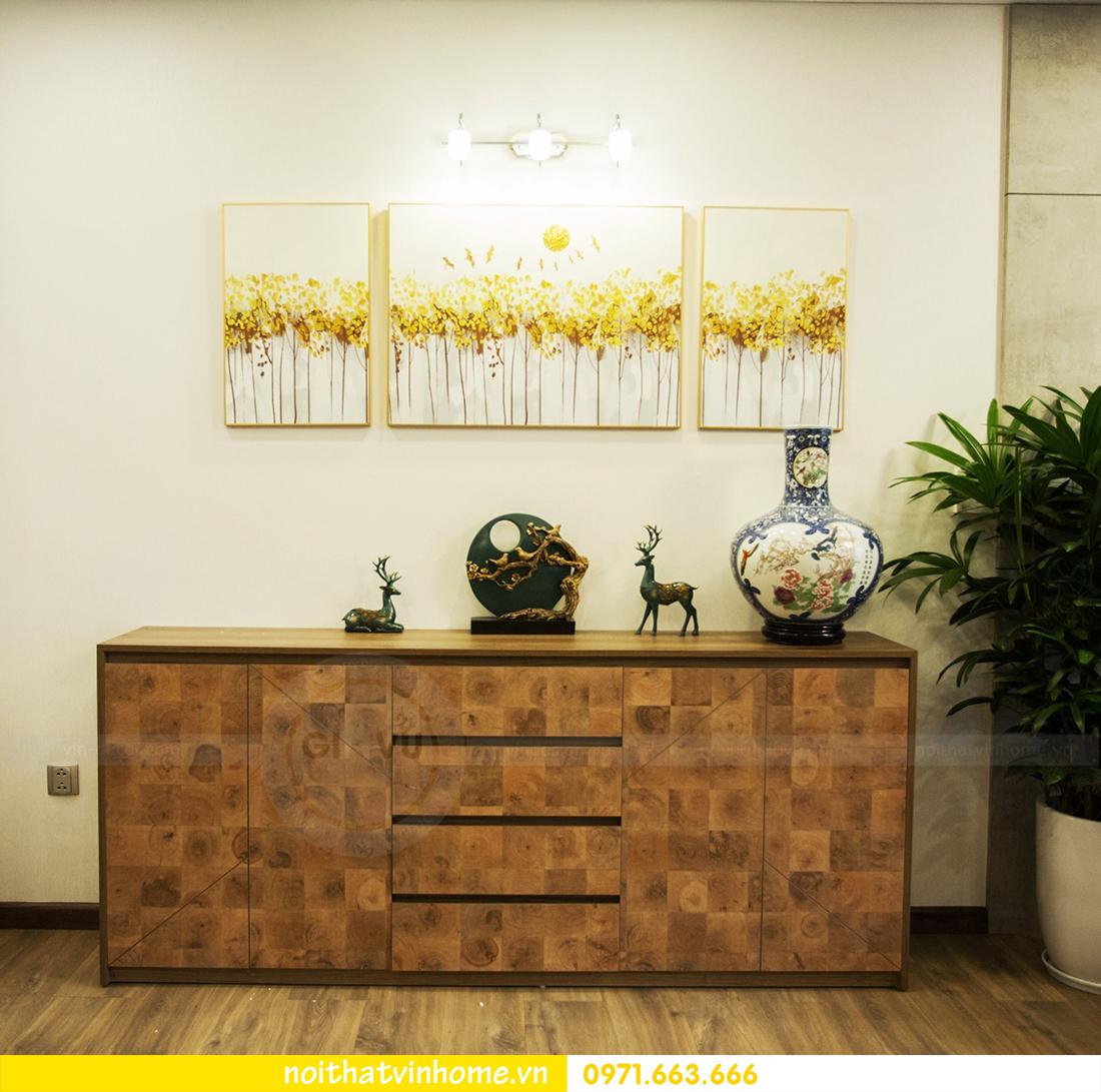 thi công hoàn thiện nội thất căn hộ thực tế nhà chị Hương 04