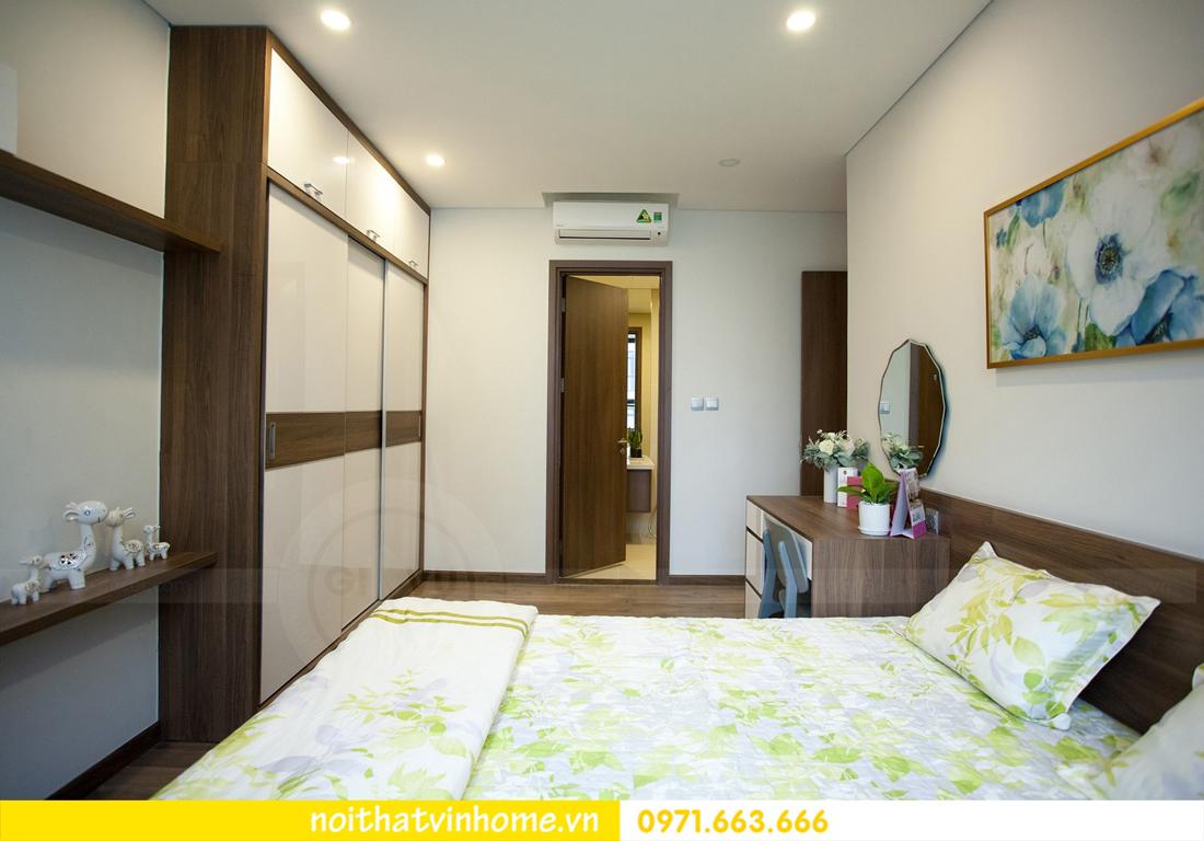 thi công hoàn thiện nội thất căn hộ thực tế nhà chị Hương 11