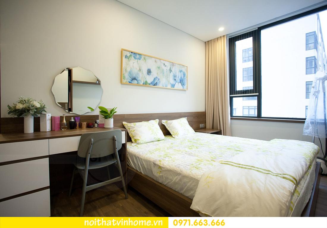 thi công hoàn thiện nội thất căn hộ thực tế nhà chị Hương 12