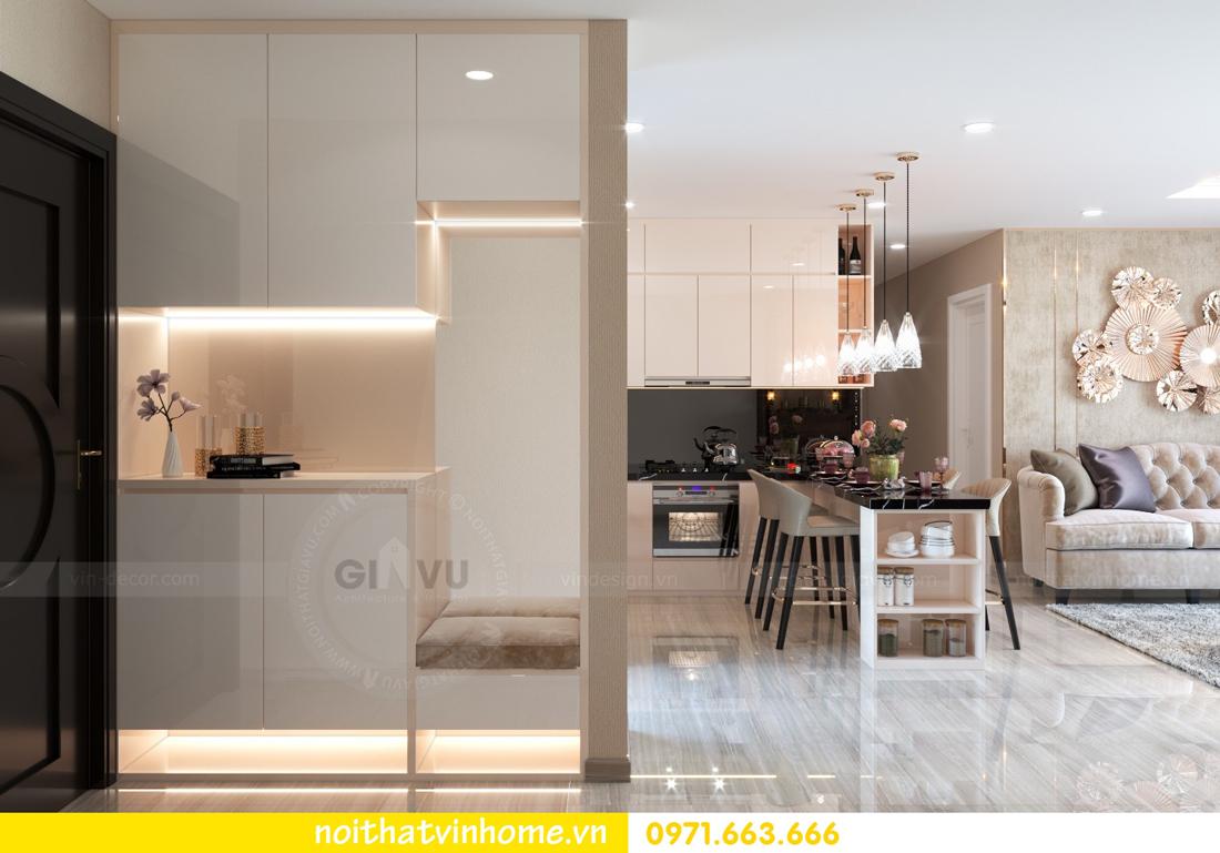 thiết kế nội thất căn hộ 100m2 tại tòa C6 03 Vinhomes D Capitale 01