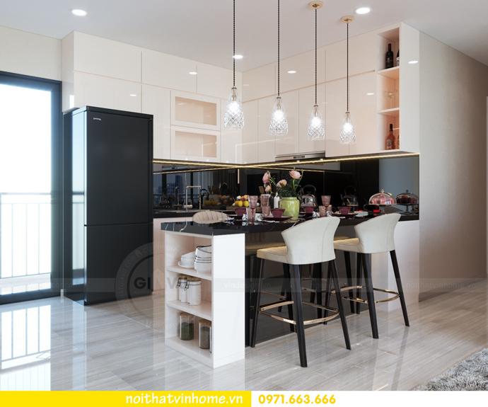 thiết kế nội thất căn hộ 100m2 tại tòa C6 03 Vinhomes D Capitale 02