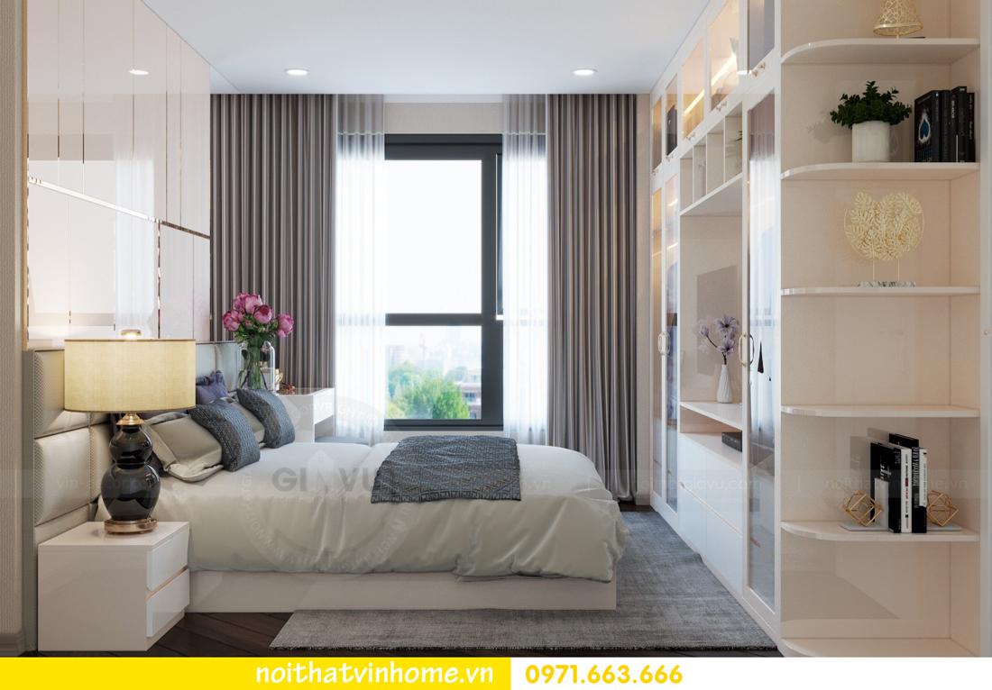 thiết kế nội thất căn hộ 100m2 tại tòa C6 03 Vinhomes D Capitale 06
