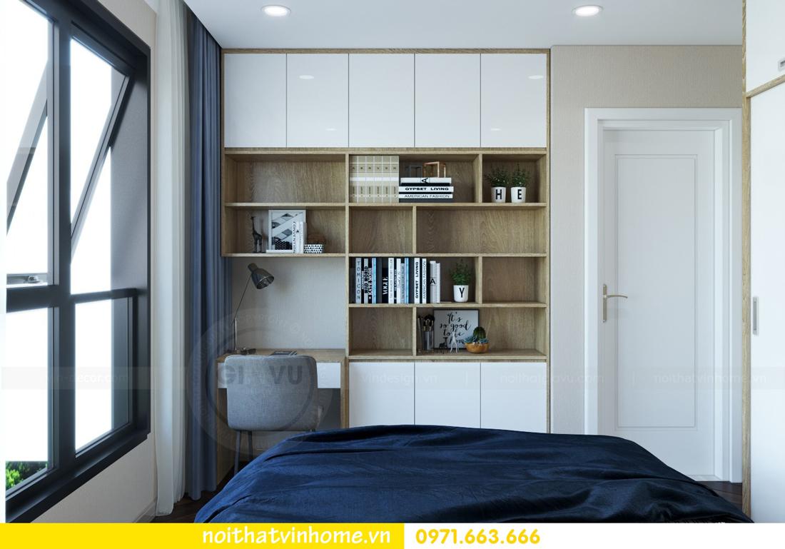 thiết kế nội thất căn hộ 100m2 tại tòa C6 03 Vinhomes D Capitale 08