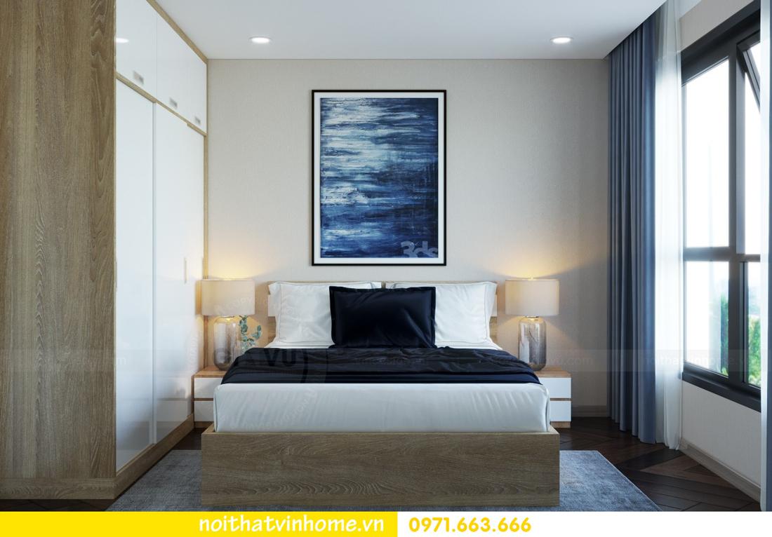 thiết kế nội thất căn hộ 100m2 tại tòa C6 03 Vinhomes D Capitale 10