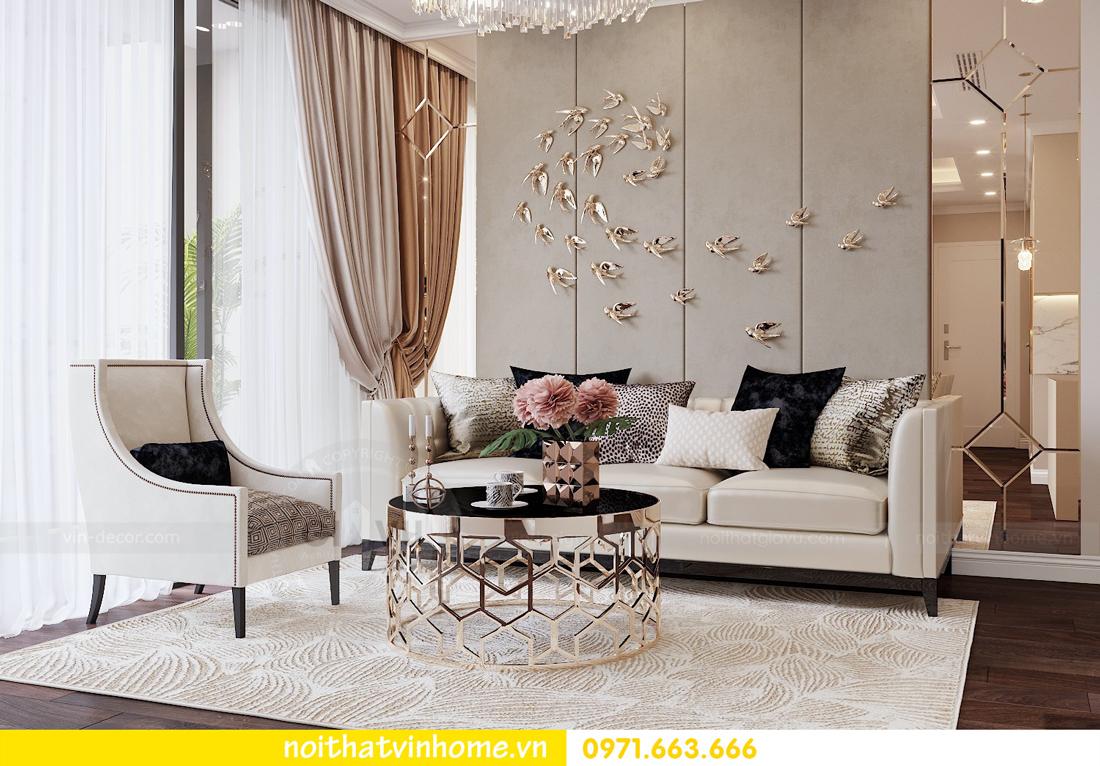 thiết kế nội thất chung cư 80m2 tại Vinhomes D Capitale 03