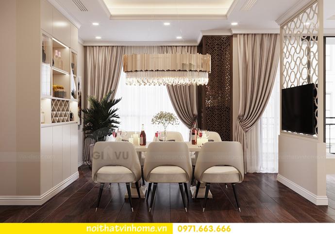 thiết kế nội thất chung cư 80m2 tại Vinhomes D Capitale 04