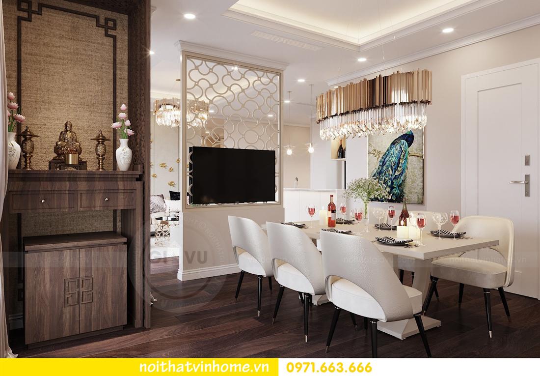 thiết kế nội thất chung cư 80m2 tại Vinhomes D Capitale 05