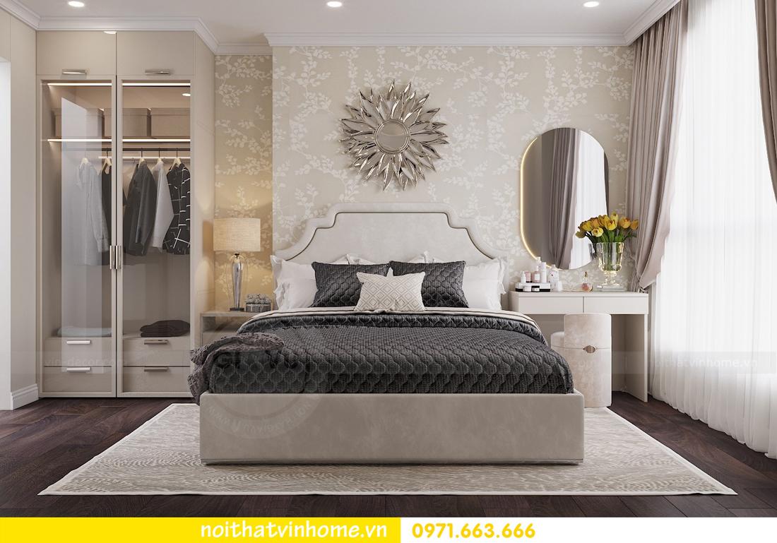 thiết kế nội thất chung cư 80m2 tại Vinhomes D Capitale 06