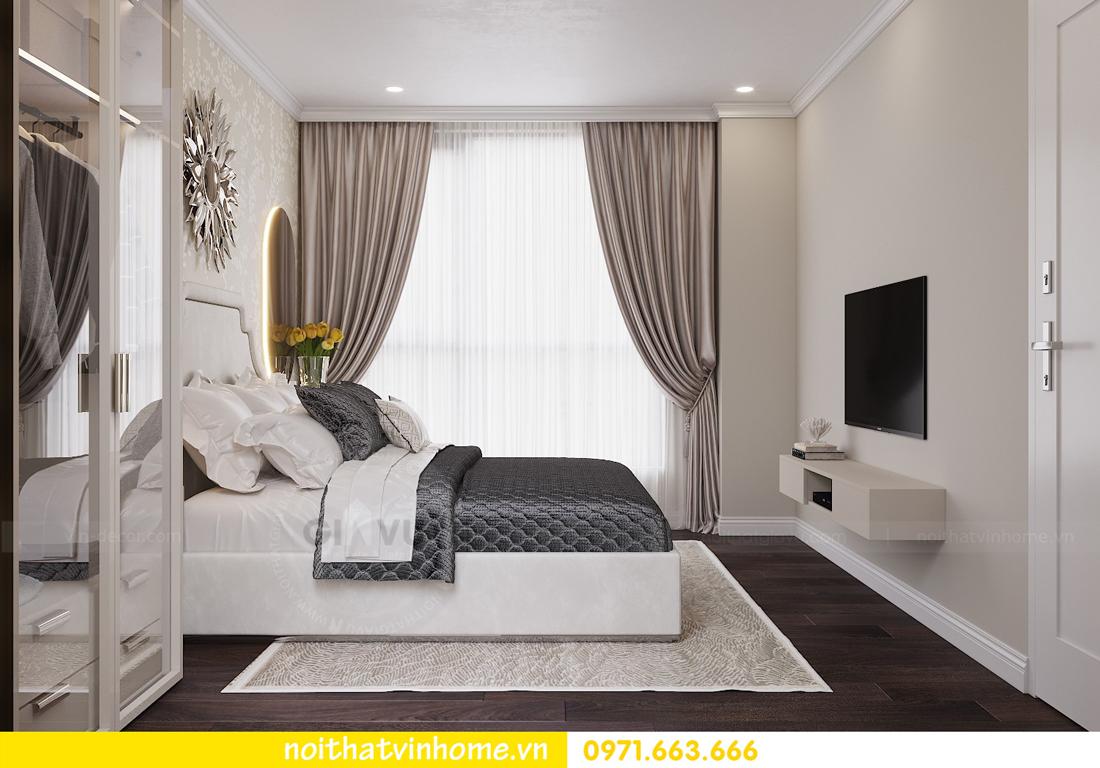 thiết kế nội thất chung cư 80m2 tại Vinhomes D Capitale 07