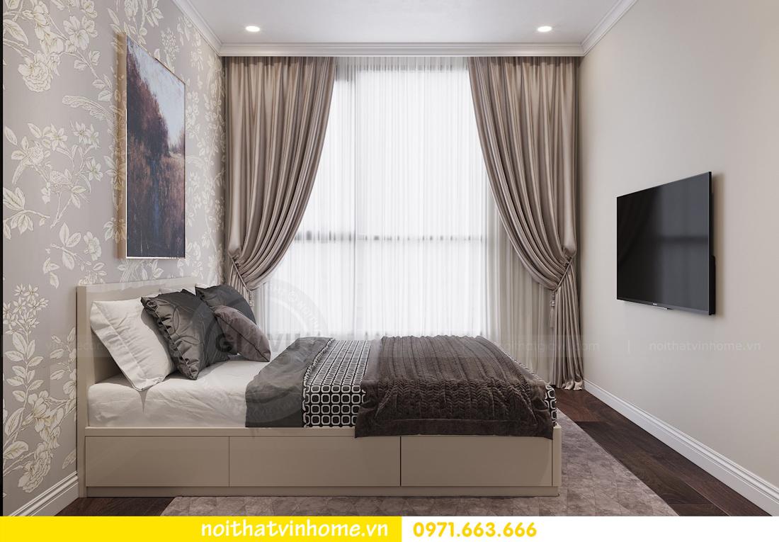 thiết kế nội thất chung cư 80m2 tại Vinhomes D Capitale 09