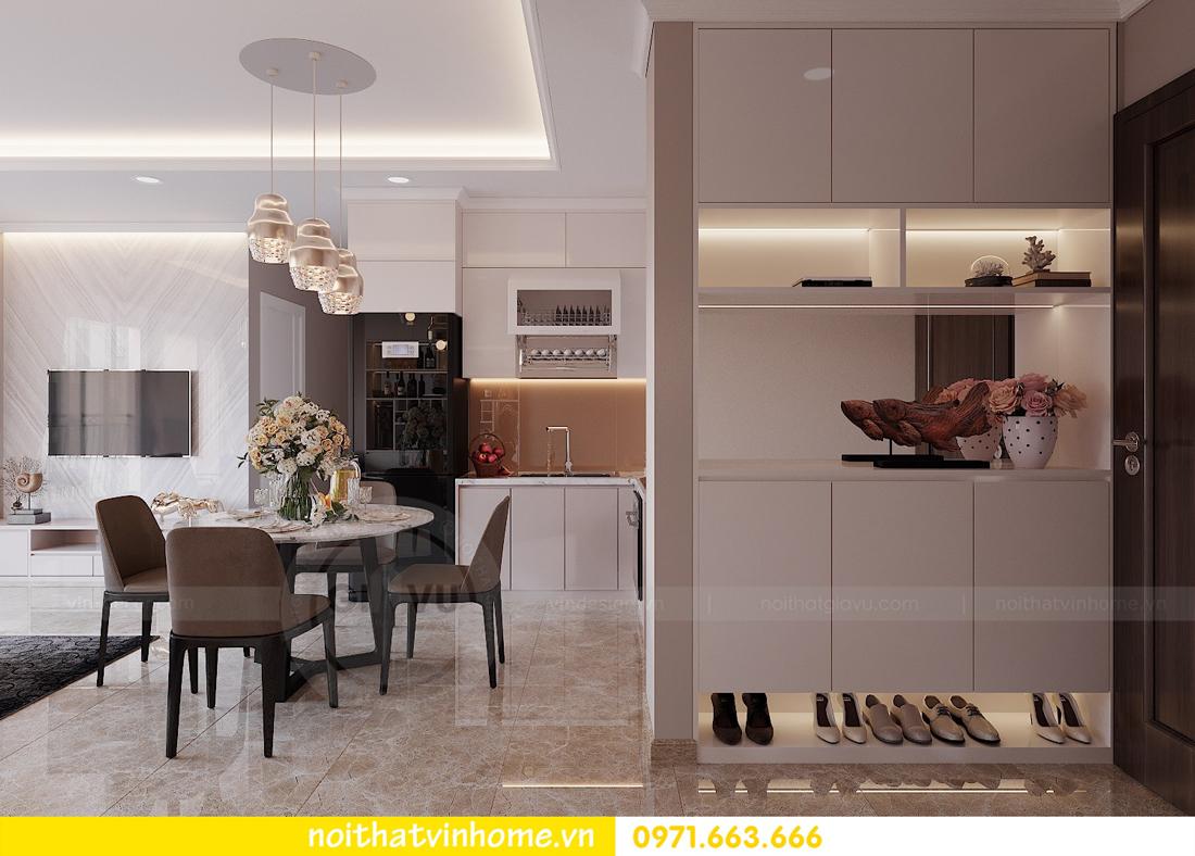 thiết kế nội thất chung cư đẹp tại tòa C1 căn 10 D Capitale anh Tuyên 01